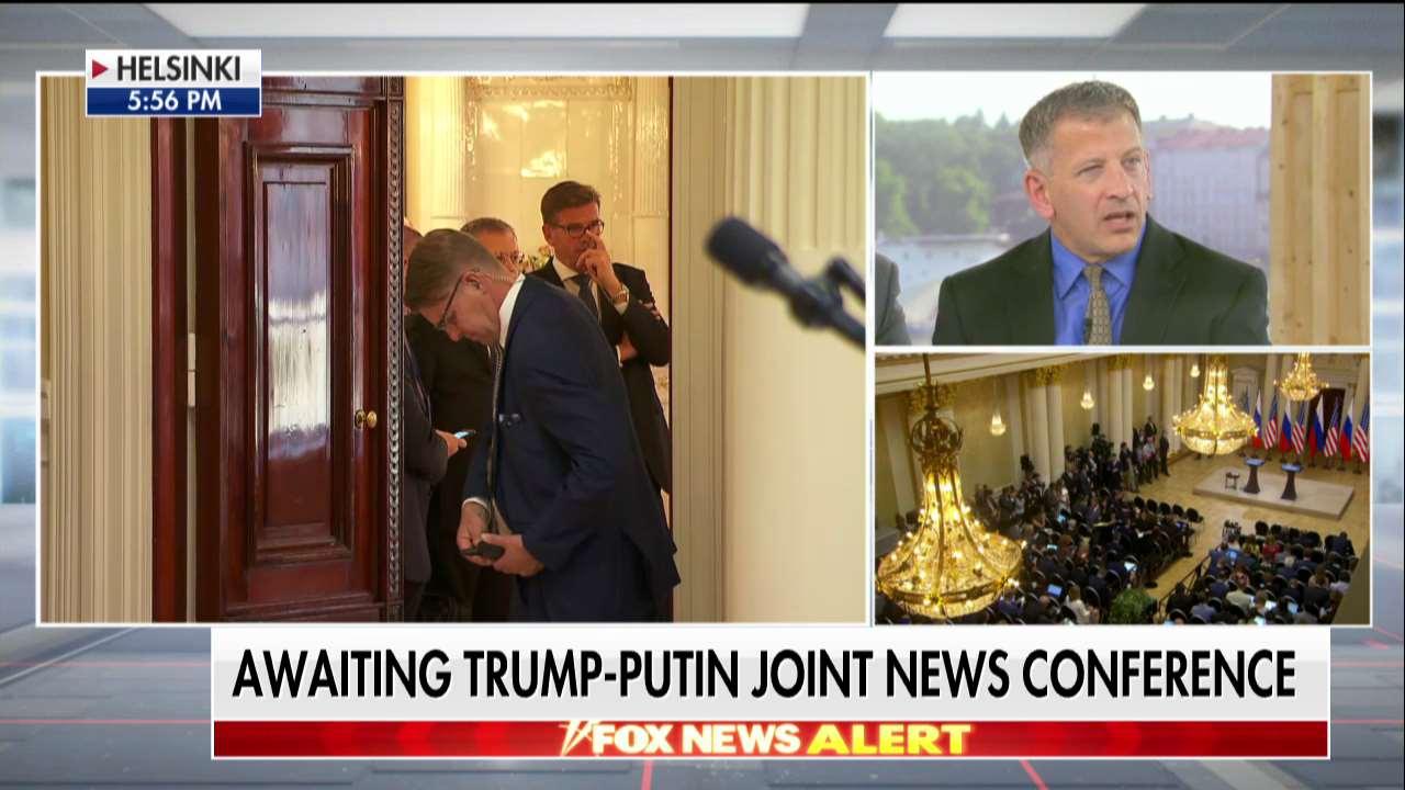 AWAITING: @POTUS-Putin joint news conference @AmericaNewsroom https://t.co/K8jvaWGLHd https://t.co/mTeJrcArSr