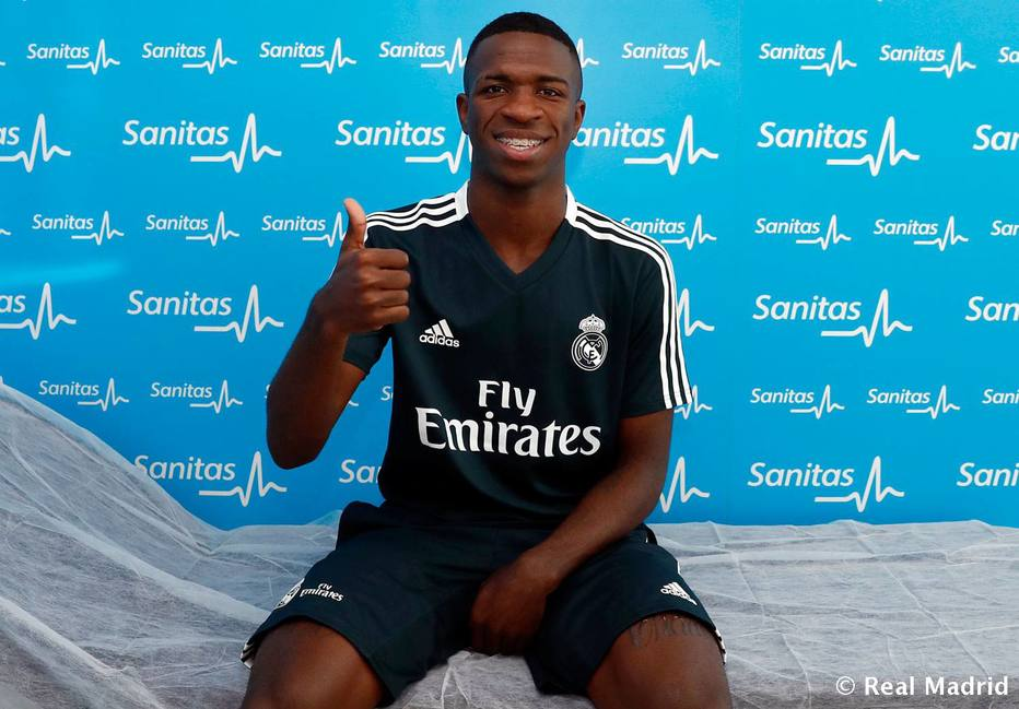 >@EstadaoEsporte Vinícius Júnior realiza exames médicos para pré-temporada no Real Madrid https://t.co/Ny3fn72JXV