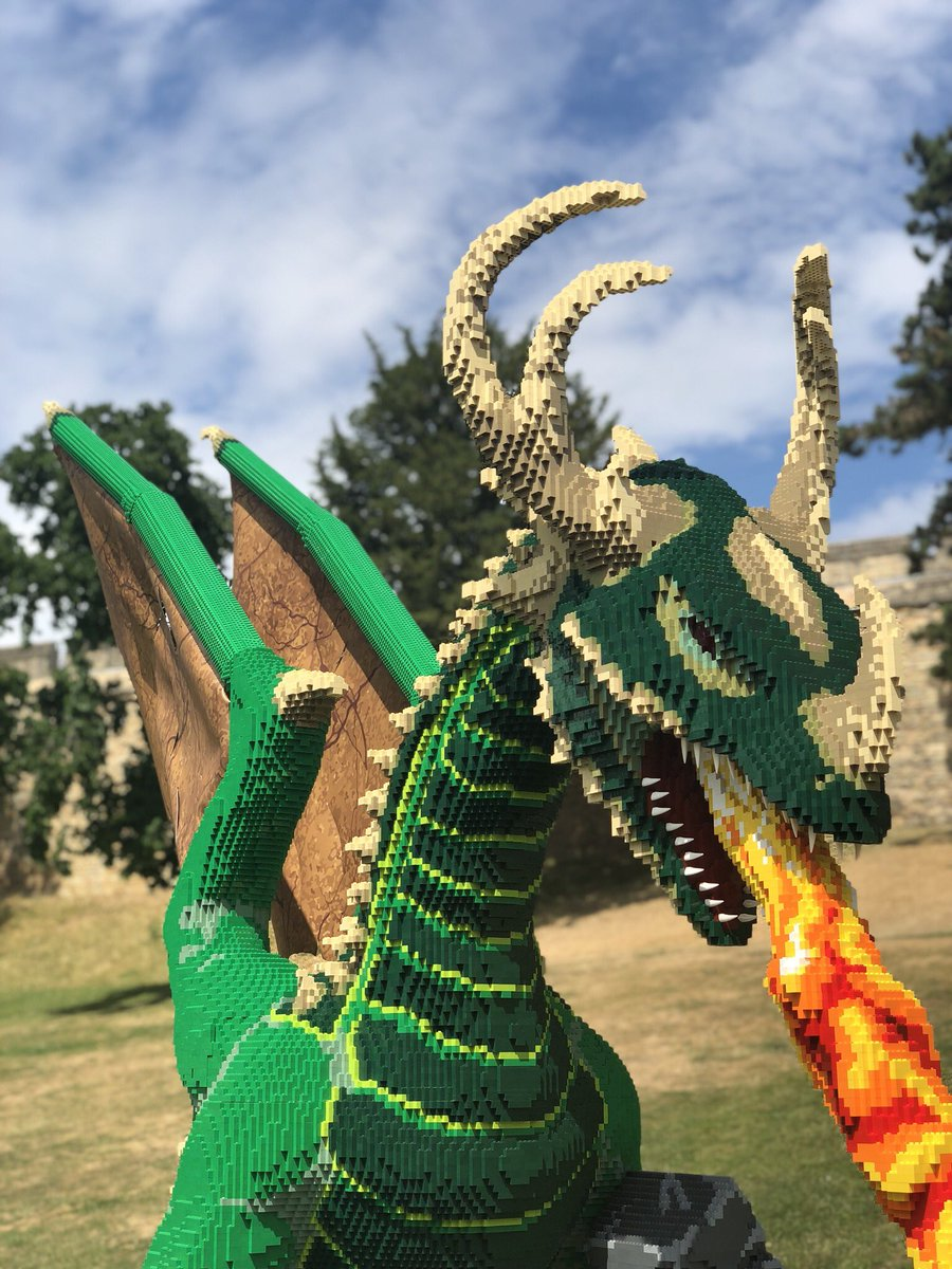 Michael Hortin On Twitter A Lego Dragon In Lincoln Lego