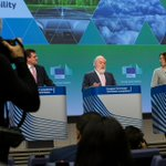 Image for the Tweet beginning: Climate Commissioner @MAC_europa and the