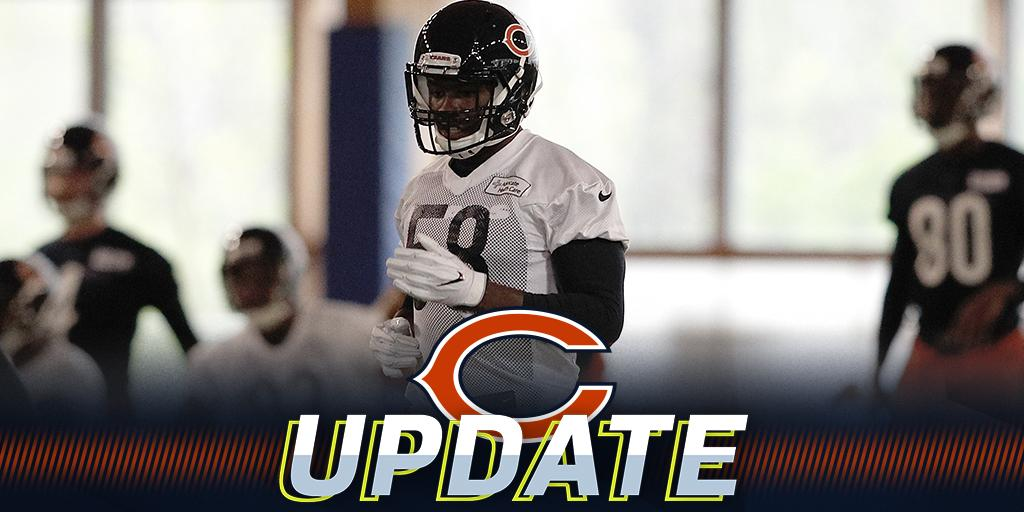 Roquan Smith doesn't report to Bears camp with rookies: https://t.co/uHYmSEqa1q (via @RapSheet) https://t.co/iWoBc9nwAH
