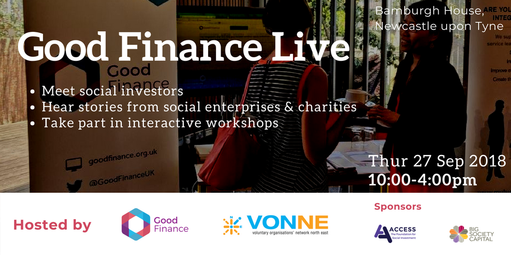 test Twitter Media - Are you a social enterprise, charity or community organisation in North England who are trading and are making an income from that activity? @GoodFinanceUK is hosting an event to help you meet potential investors #socinv https://t.co/w4xYeUATP4