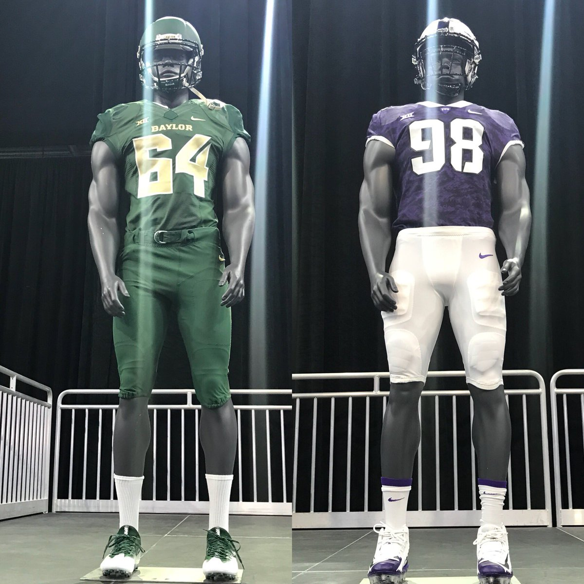 Rival uniform challenge! RT for @BUFootball ♥️ for @TCUFootball