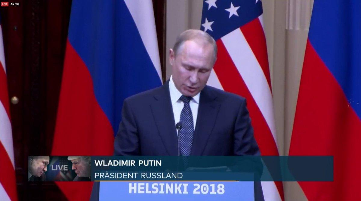 🎥 JETZT IM LIVESTREAM: Putin und Trump stellen sich gemeinsam der Presse  https://t.co/wzz0BNtYsg