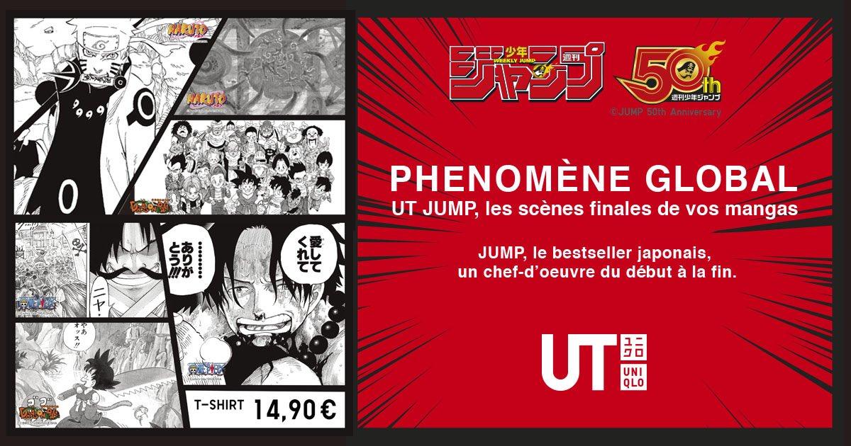 T-Shirts séries du Shonen Jump chez UNIQLO avec offre ADN DiPH8_CWsAwtH9P