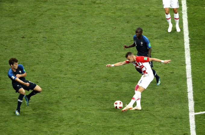 @sportingindex @muhammadbutt Ivan Perišić has now been directly involved in more major tournament goals (11) than any other Croatia player in their history. ⚽️ 7 goals 🅰️ 4 assists Different animal in the KO stages. Photo