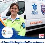 #FamiliaSeguraEnVacaciones Twitter Photo