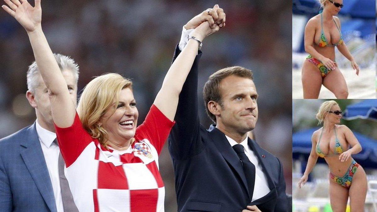 #WorldCup Croatian President Kolinda Grabar-Kitarovic's bikini pics go viral – are they real? https://t.co/vh28QGoWHh