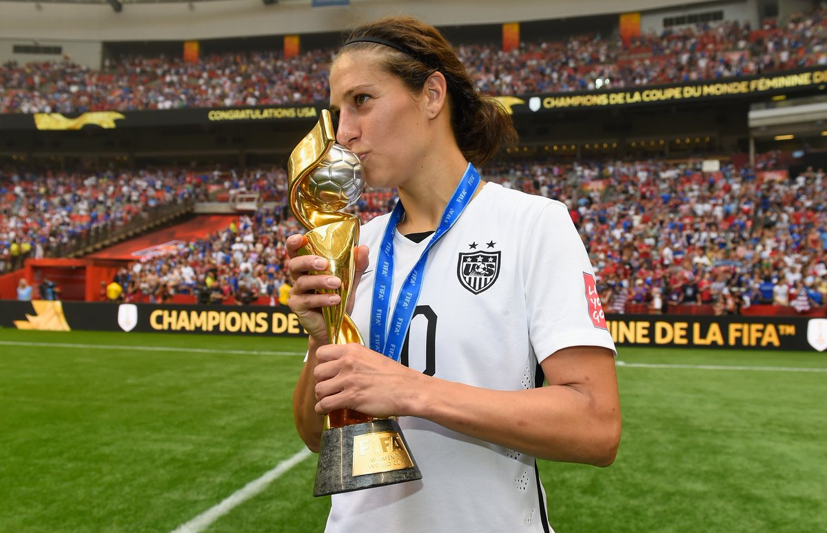 Happy birthday, @CarliLloyd 🎂