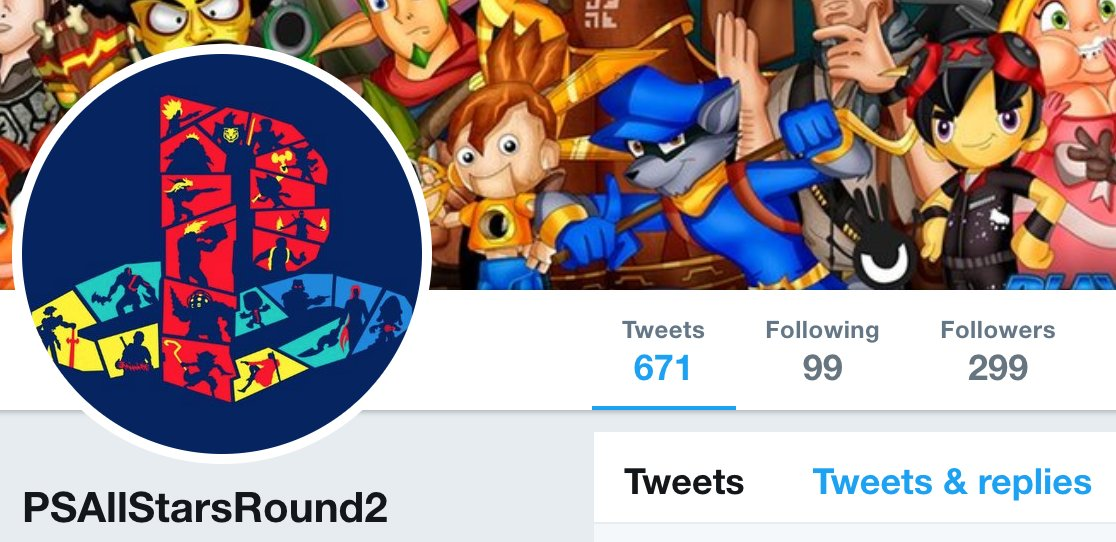 If you need some #MondayMotivation to keep fighting for #AllStarsRound2, know that we are, as of now, just one follower away from the 300 milestone. If @yosp @SonySantaMonica @RohdeScott needed a sign that the audience for a PlayStation All-Stars sequel is out there, here we are. <br>http://pic.twitter.com/3532w9hby2
