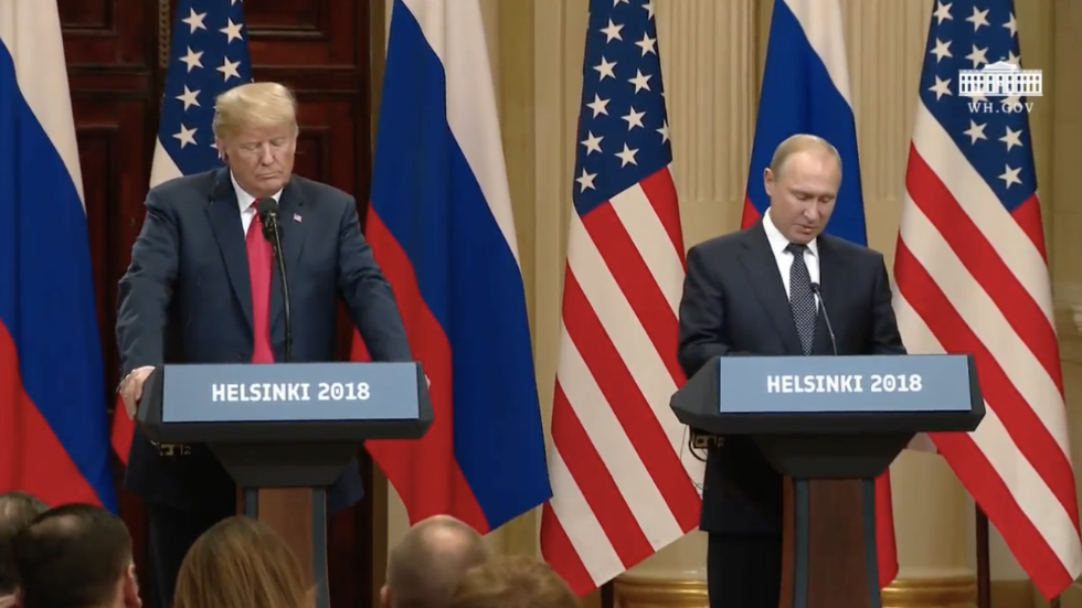 WATCH LIVE: Trump and Putin speak at joint press conference https://t.co/MZNQfyLnR1 https://t.co/2SwhR2TFXz