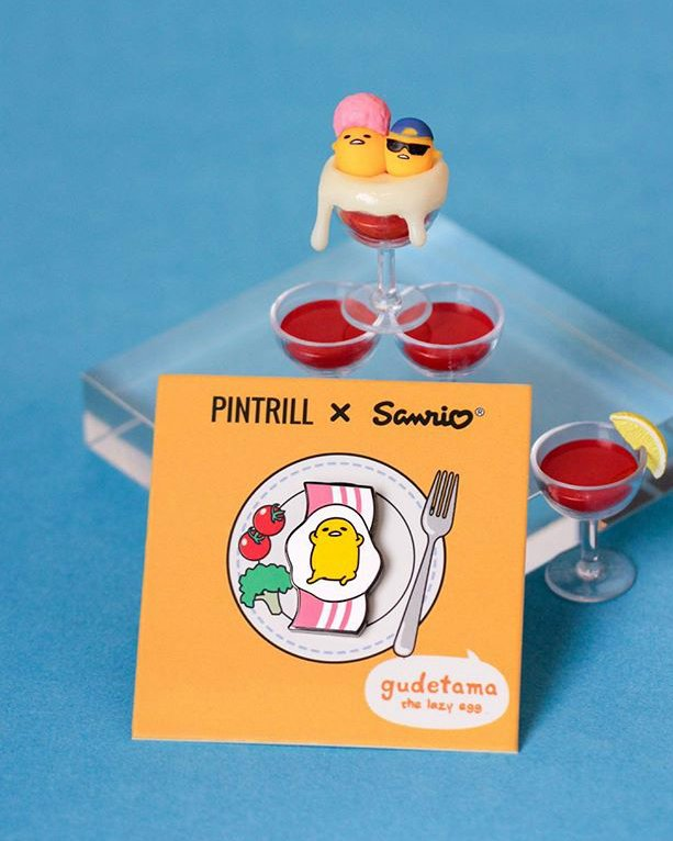 .@PINTRILLs Gudetama pin is eggcellent 🍳