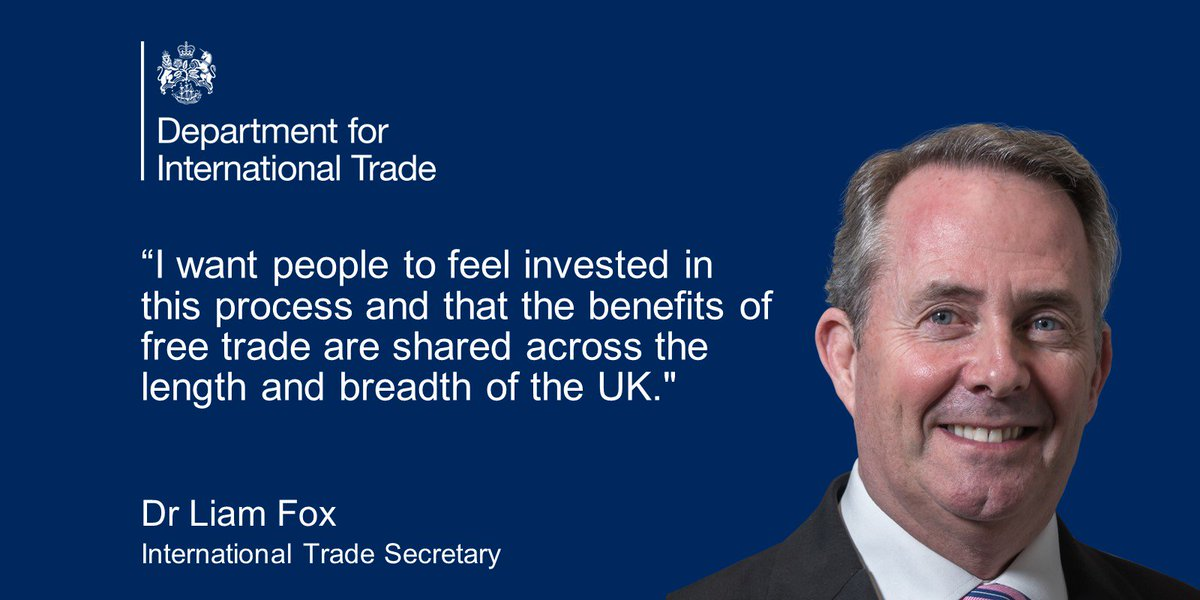 Department For International Trade On Twitter Liamfox Says The