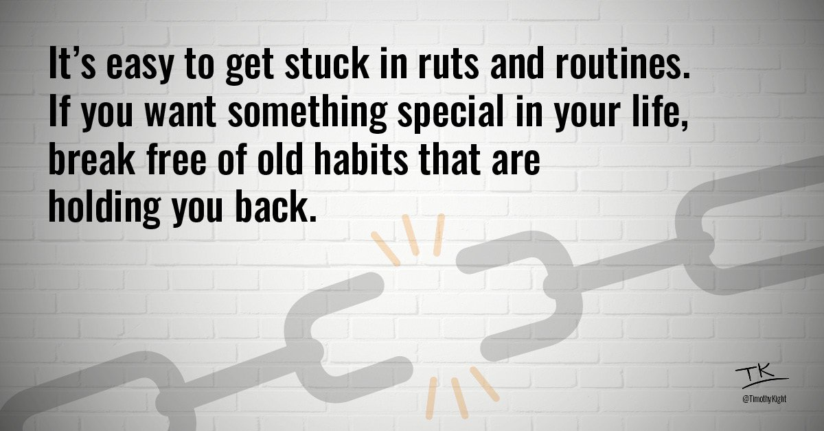 Want better results? Build better habits.