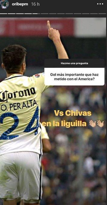 ¿El gol más importante de @OribePeralta con la playera azulcrema? El que le anotó a @Chivas en los 4tos de final de Vuelta del Apertura 2016. Photo