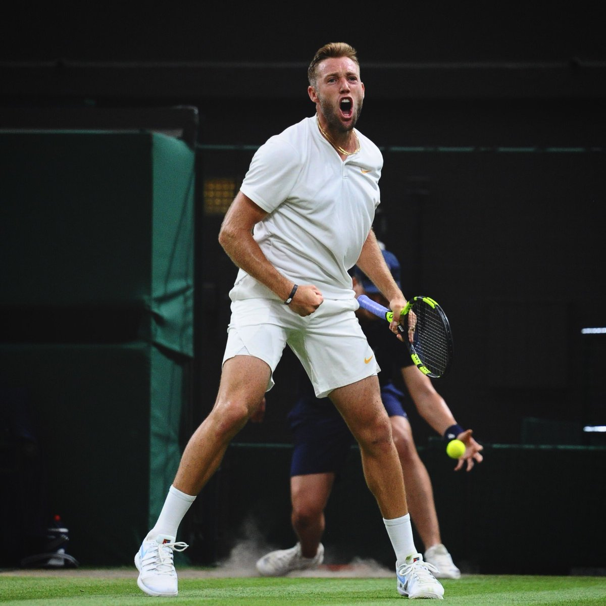 Leaving @wimbledon with hardware. 🏆 @JackSock We Live For This. #PlayToBeWild