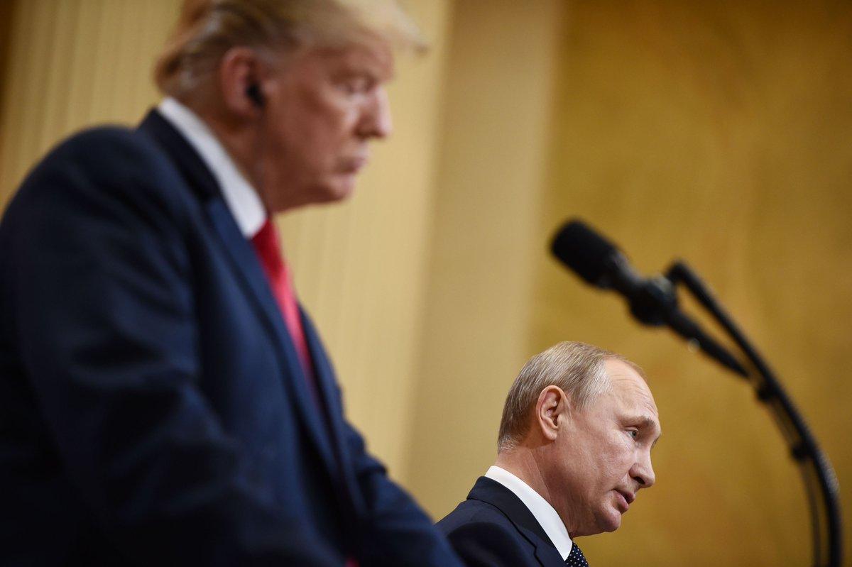 Anche #Putin respinge le accuse relative al #Russiagate: 'Ci sono state accuse che non hanno un fondo di verità, dobbiamo farci guidare dai fatti non dalle speculazioni', ha detto il capo del #Cremlino in conferenza stampa https://t.co/eC2cHgfAJn