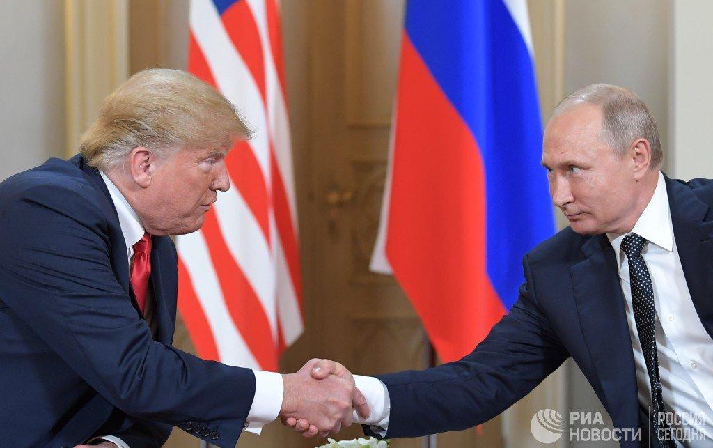 Трамп назвал Путина хорошим соперником  https://t.co/1mGUR1QQos