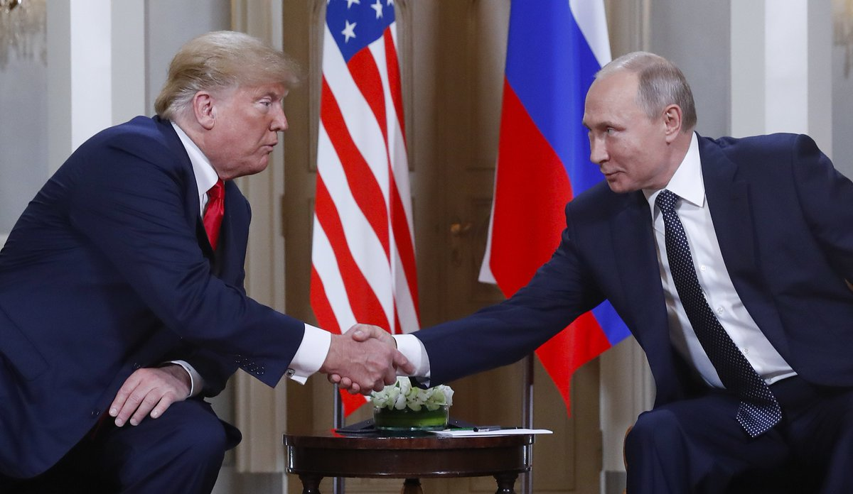 #BREAKING: Putin offers to interrogate 12 named in US indictments but calls claims of collusion with Trump campaign 'nonsense'  https://t.co/PP7apZrVfP