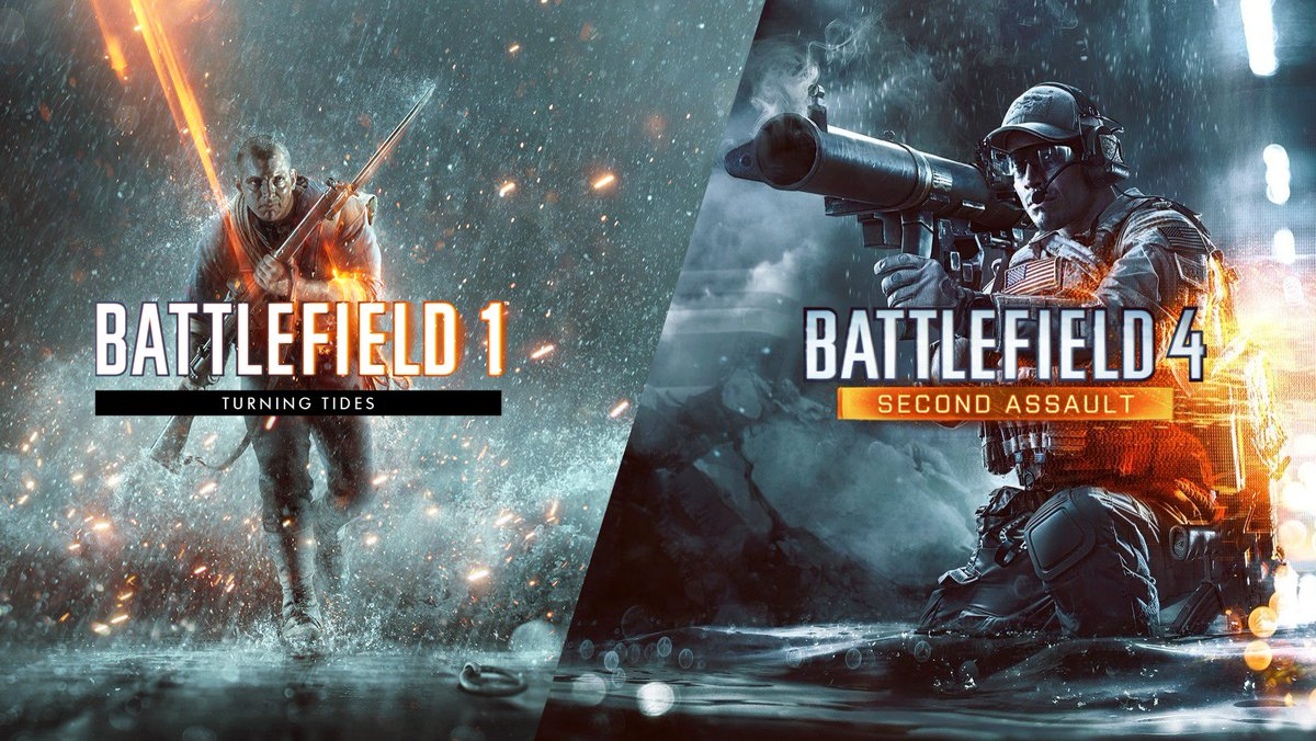 Last chance to get #BF1 Turning Tides and #BF4 Second Assault for free via Origin Store, PlayStation Store and Microsoft Store.  The offer ends in 18 hours. <br>http://pic.twitter.com/DORezXPAco