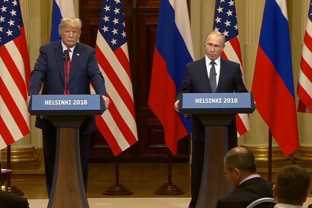 UPDATE: Russian President Putin offers to interrogate 12 named in US indictments but calls claims of collusion with Trump campaign 'nonsense' (AP) READ MORE: https://t.co/aAKi7iFtZJ