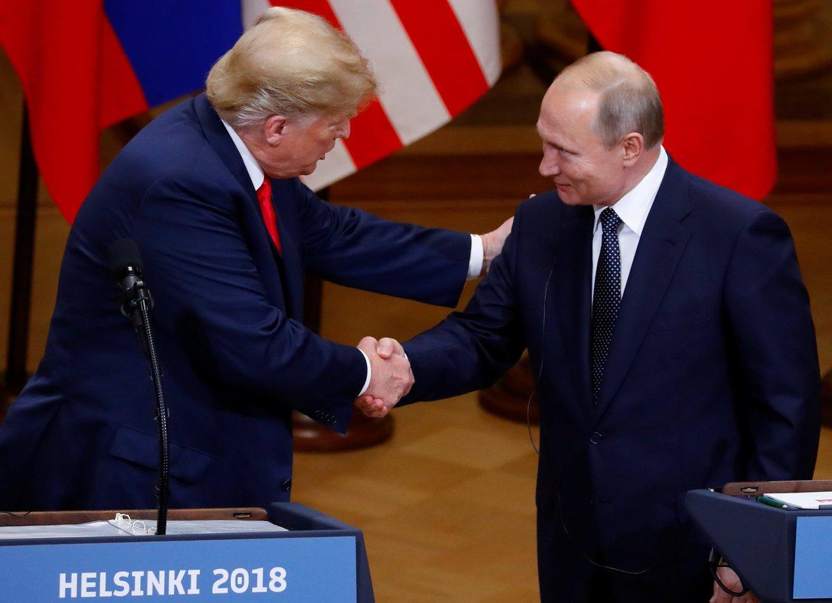 Sull'annessione della Crimea alla Russia #Trump 'ha ribadito fermamente' la sua posizione e 'l'ha mantenuta: l'annessione è stata illegale', ha detto #Putin, sottolineando che 'noi la vediamo diversamente'. https://t.co/FKByJahstw
