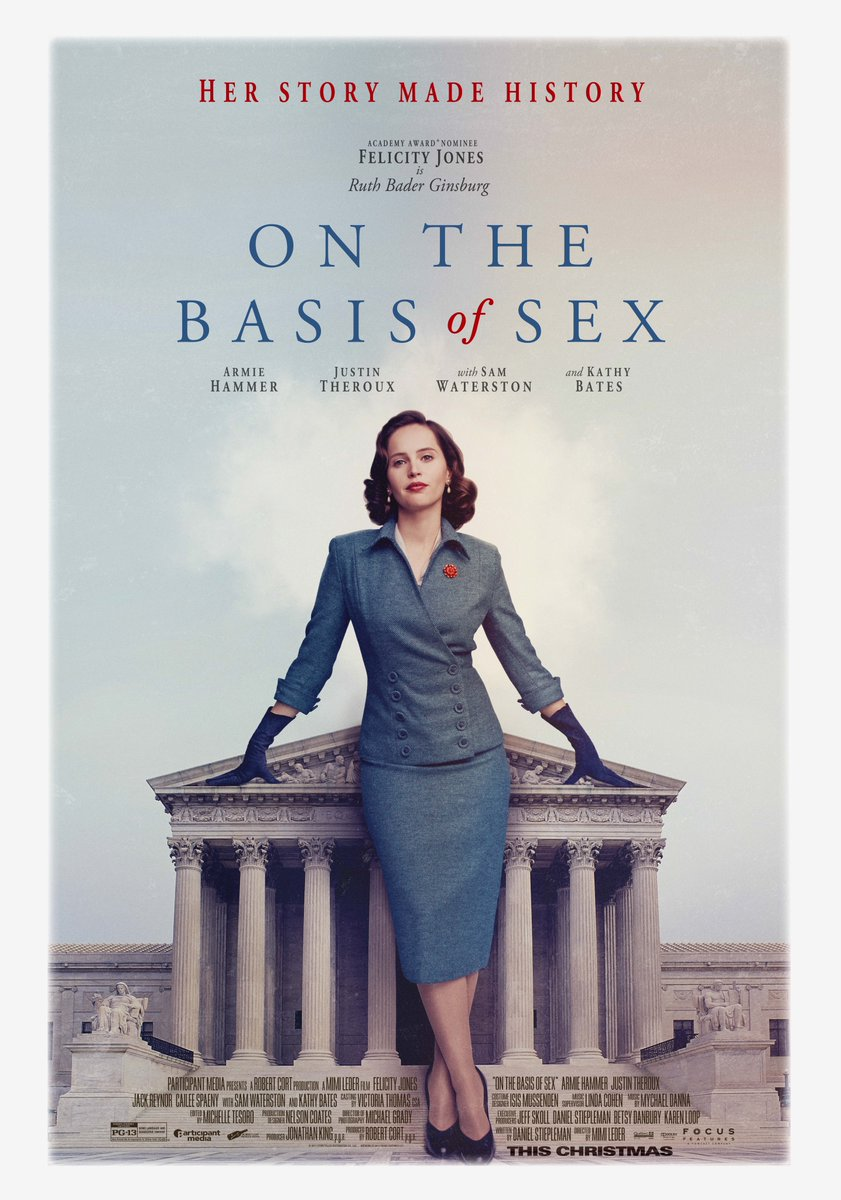 On the Basis of Sex avec Felicity Jones DiPSsS4XkAEI7j0