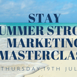 Image for the Tweet beginning: This summer,don't stop marketing.Slow down