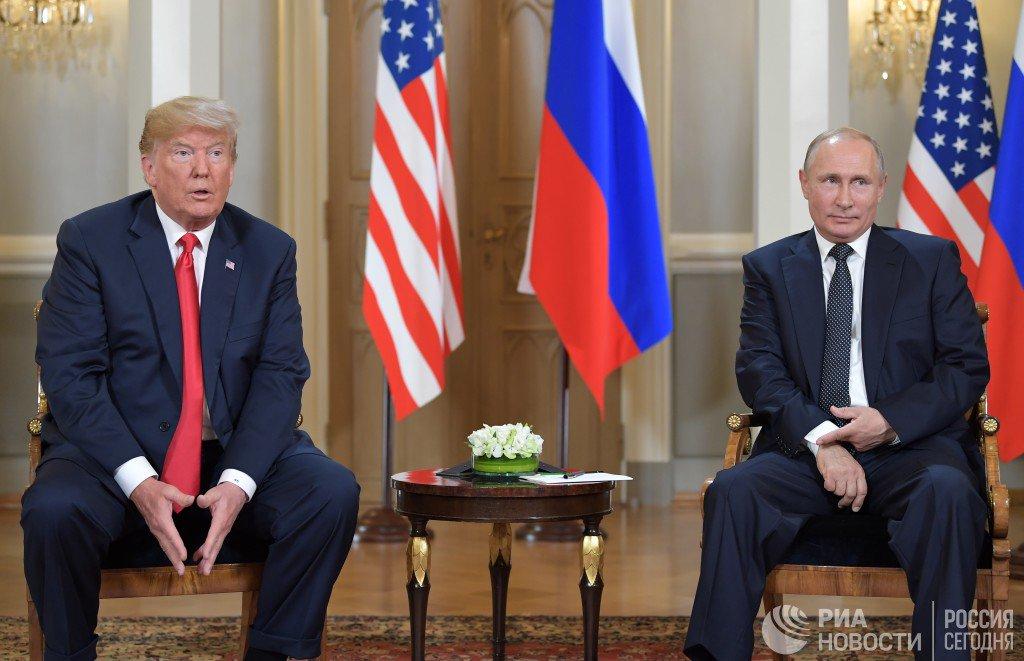 Путин: Трамп говорит о незаконности присоединения Крыма, мы считаем иначе  https://t.co/N6exzegU7d