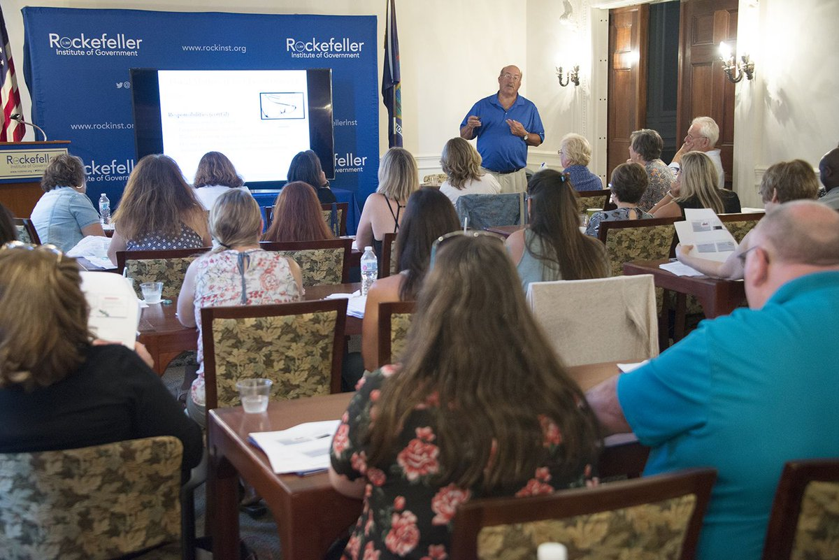 Jim Olivo covers financial management on day two of the 2018 New York Municipal Clerks Institute at the Rockefeller Institute of Government. Learn more about NYMCI here: https://t.co/Tc3OH37WFp