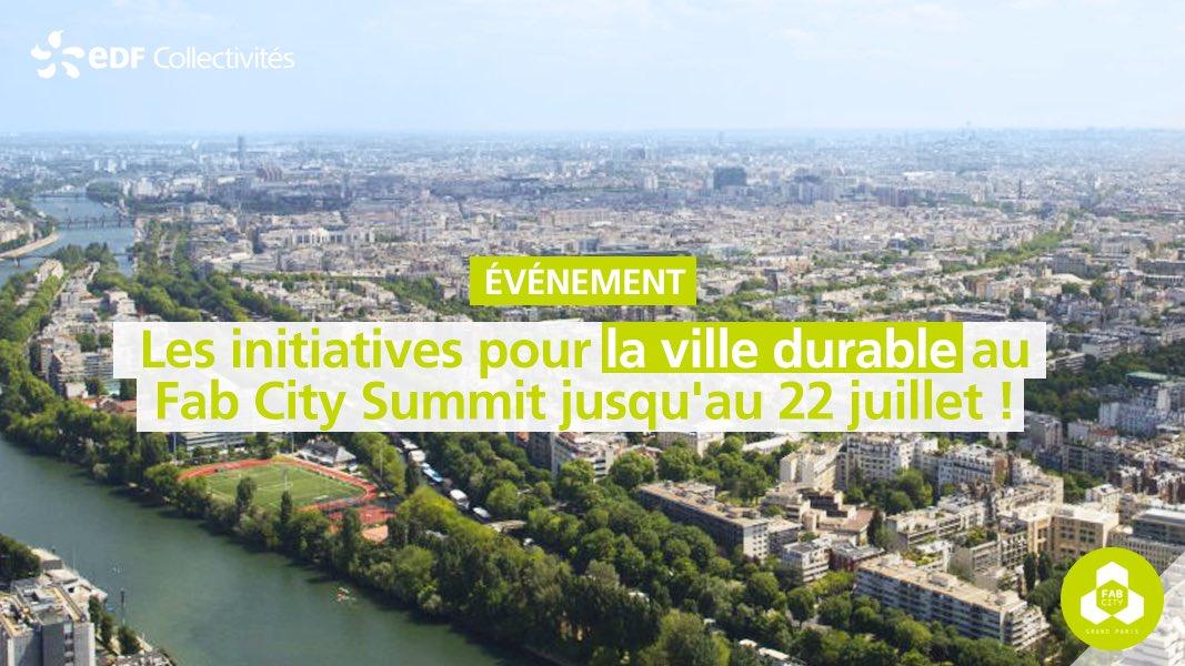 #VilleDurable RDV au #FabCitySummit jusqu\