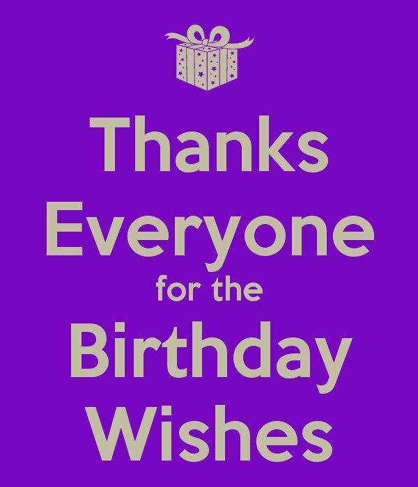 Stuart Fergus On Twitter Thanks For All The Birthday WishesX