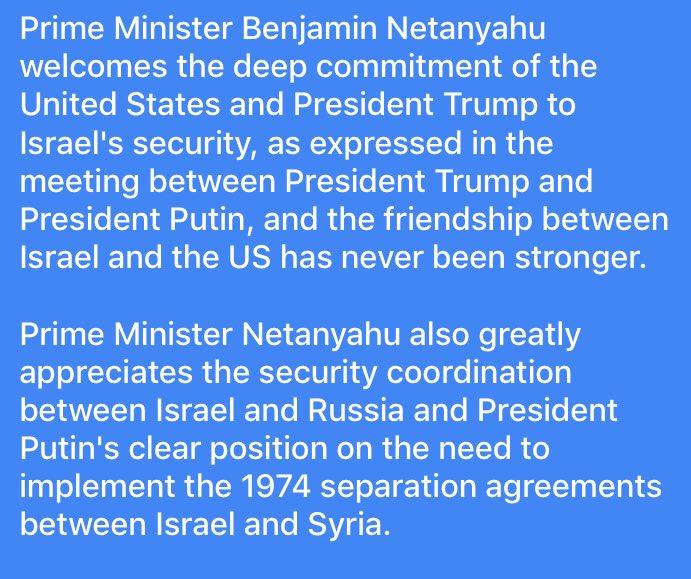 Noga Tarnopolsky On Twitter Netanyahu Vid Praising Trump Putin