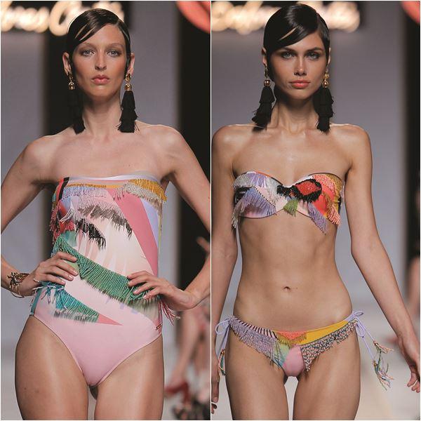 fc1c62ec8 Sortimentos @sortimentos. Desfile Dolores Cortés, marca de moda praia ...