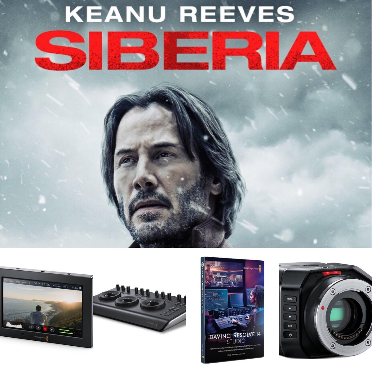 1sourcevideo On Twitter Siberia Dp Eric Koretz Used A Micro Studio Camera 4k With A Video Assist 4k As Well As Davinci Resolve And A Davinci Resolve Micro Panel For Testing Different