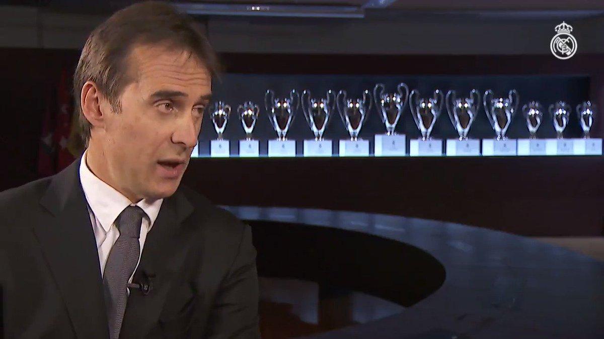 Real Madrid C.F.'s photo on Lopetegui