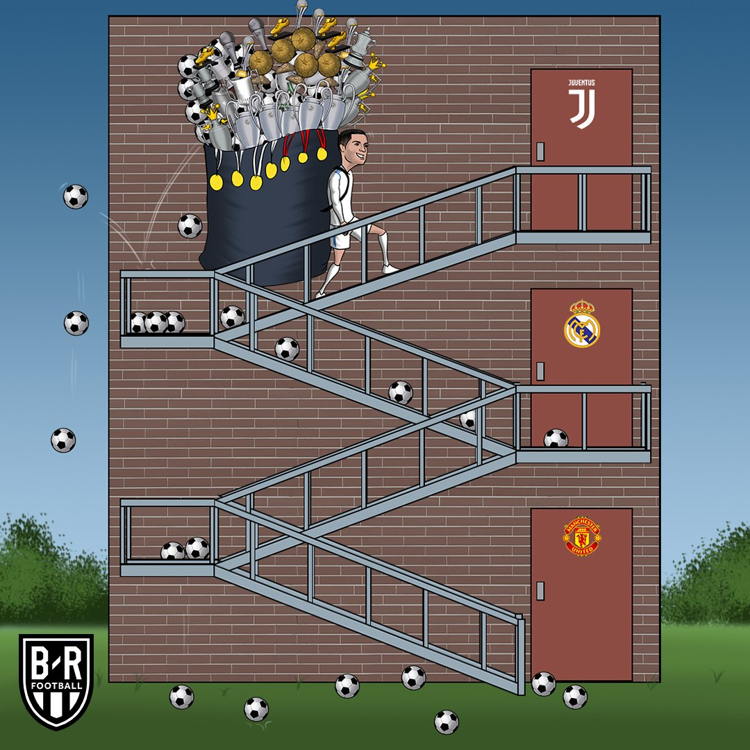 Cristiano Ronaldo takes the next step <br>http://pic.twitter.com/vVYOlVhT66