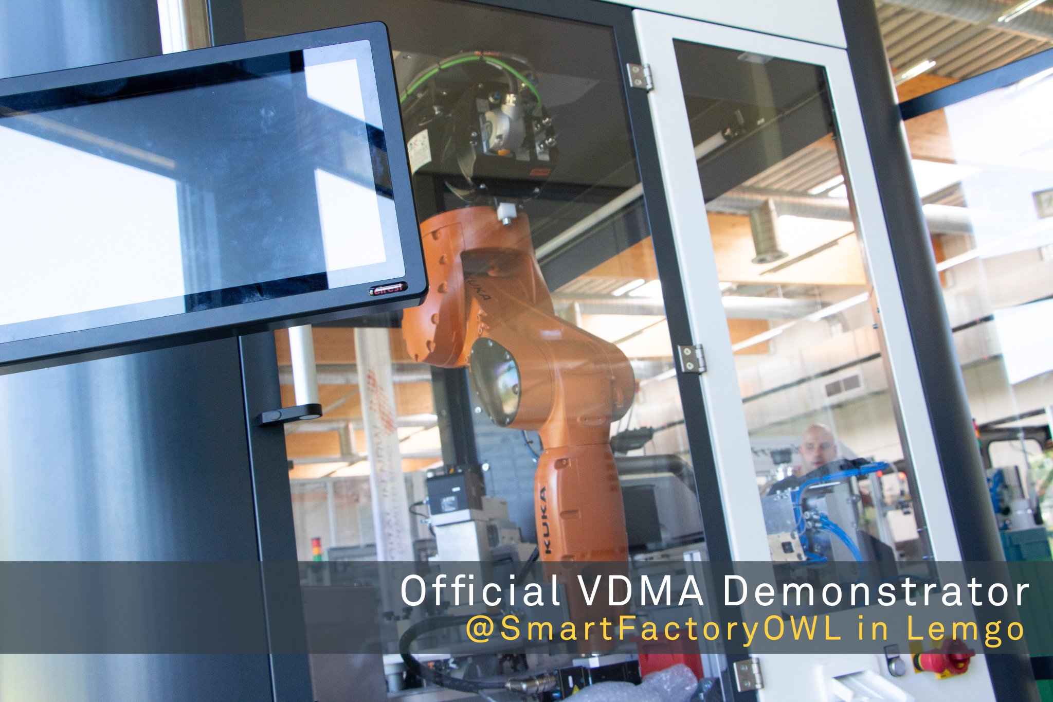 Smartfactoryowl On Twitter Some New Cool Stuff Has Been Delivered Today The Official Vdmaonline Demonstrator Meets Smartfactoryowl Wanna See It Join Our Latest Smartfactorytour On Friday 20th Of July 2018