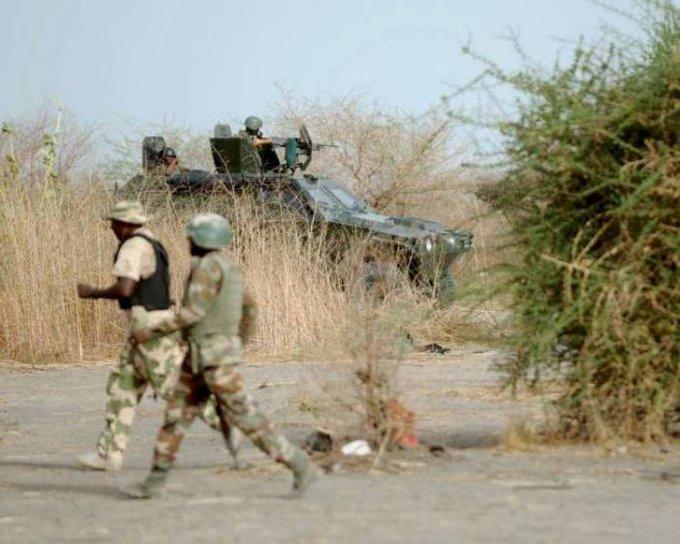 Nigerian Army repels attack, neutralises 22 terrorists via @todayng Foto