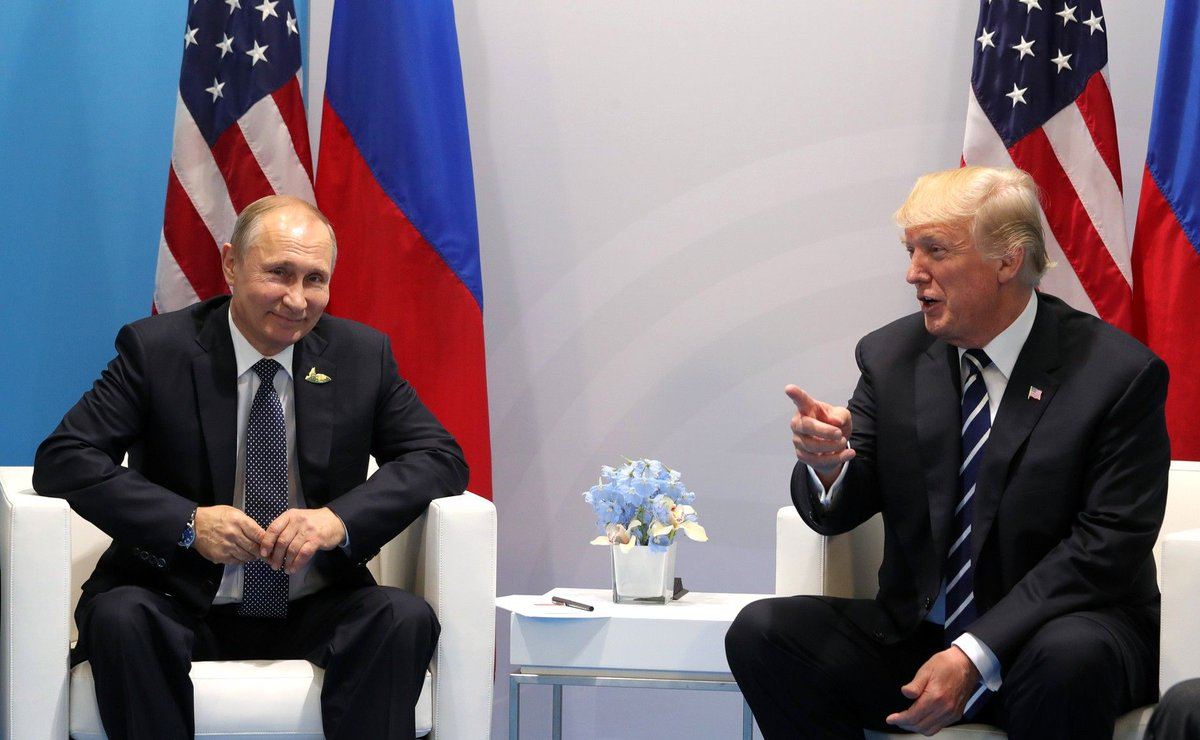 Trump diz que encontro com Putin é um 'bom começo' https://t.co/HwHuFT7xsl