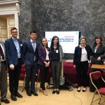 4 of our researchers, @Isa__Mancini @furculitac @T__Gehrke and @FrancescoPenne presented at the #EUIA18 conference in #Brussels on EU FTAs: Challenges and Opportunities for Global Governance, chaired by @faheye and discussed by @samvell73 & Wolfgang Weiß  https://t.co/jX2SVZsmTL