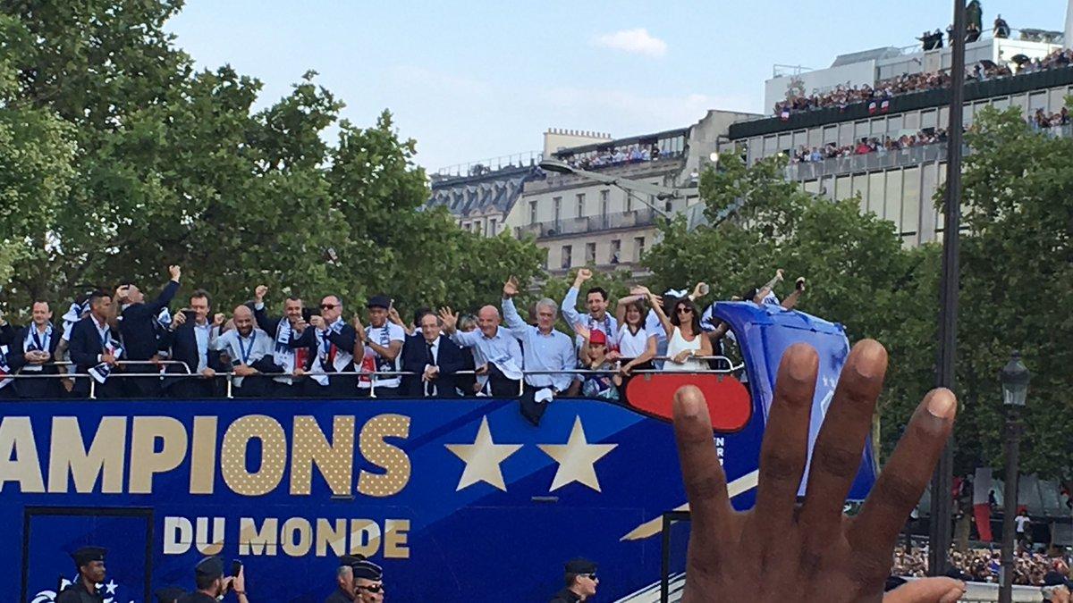 Merci les #Bleus