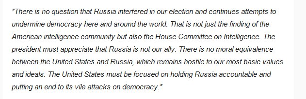 .@SpeakerRyan on Trump comments about Russia:  There is 'no question' Russia interfered in U.S. elections
