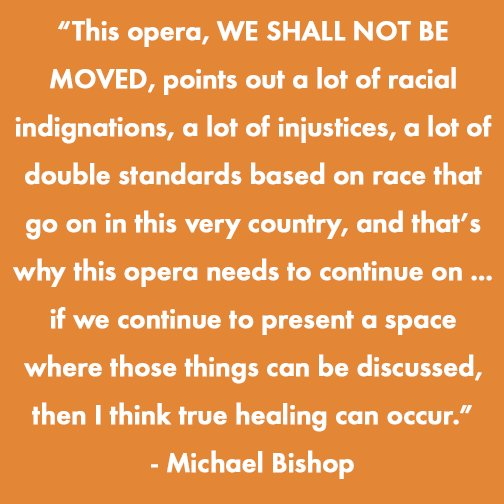 Please donate and share our Kickstarter to support Opera on the Mall: WE SHALL NOT BE MOVED: kck.st/OperaPhila #operaforphila