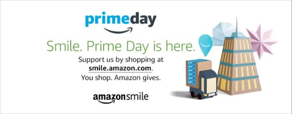 Its #PrimeDay! @Amazon will donate to @MENTORnational when you shop at smile.amazon.com and select The National Mentoring Partnership! #MentorIRL