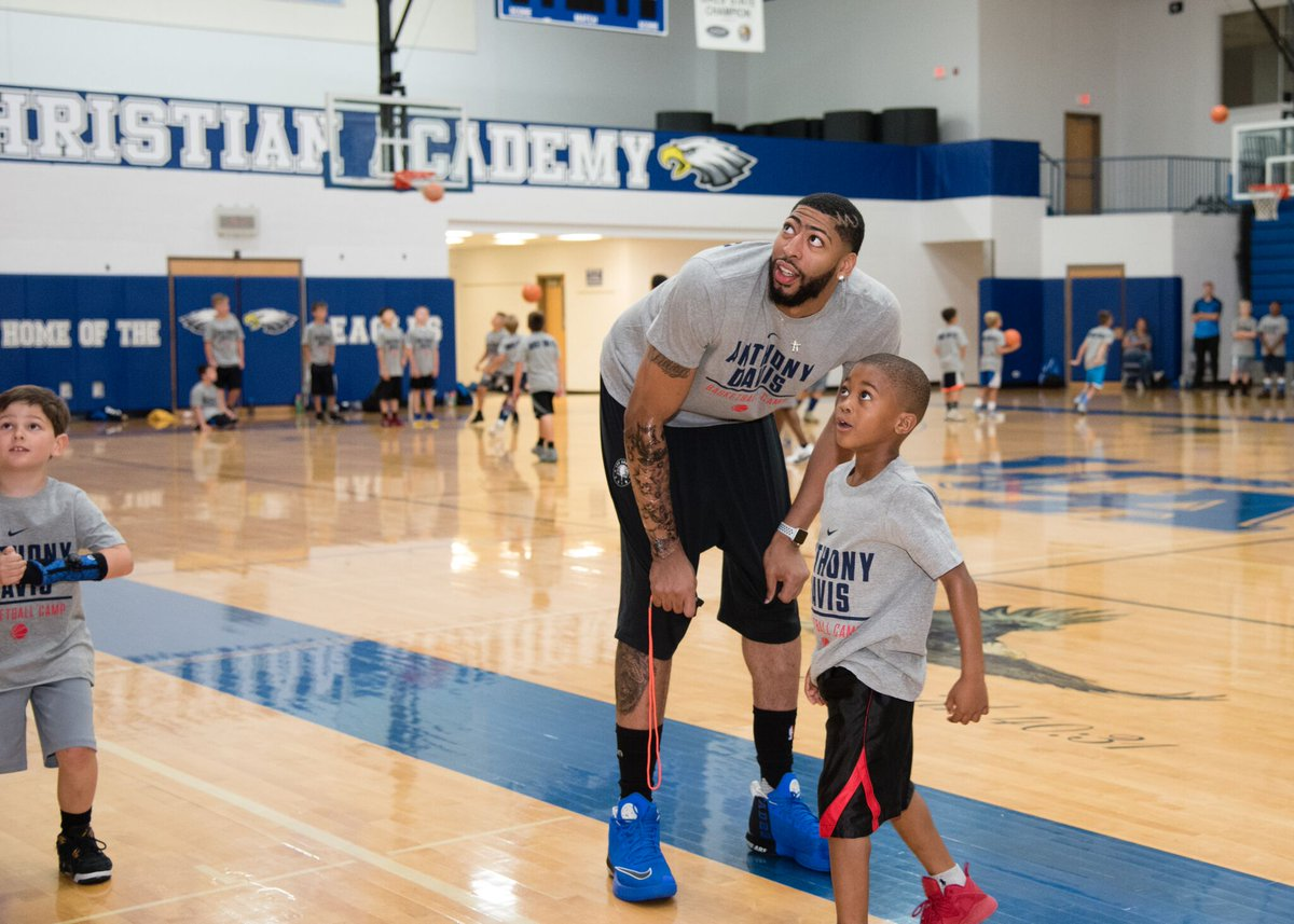 Were two weeks out from camp in New Orleans! Grab your spot at anthonydaviscamps.com