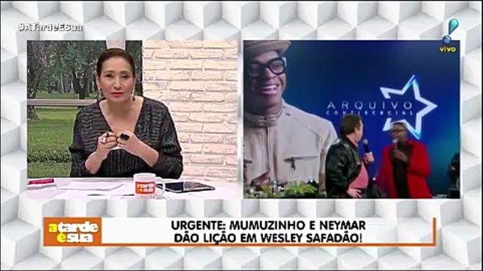 Urgente: Mumuzinho e Neymar dão lição em Wesley Safadão! #AtardeEsua Foto