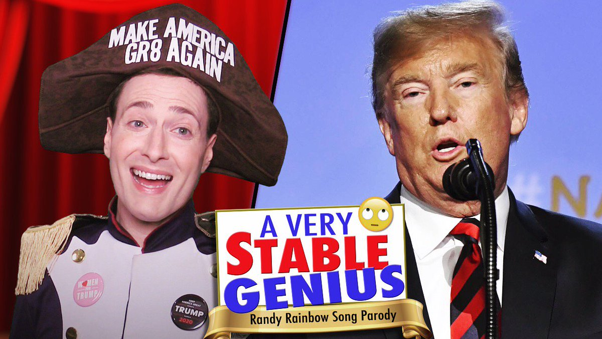 NEW VIDEO! This one's for Putin (with apologies to Gilbert & Sullivan.) #VeryStableGenius 🎶🇷🇺🤯🌈