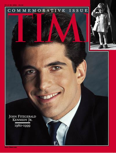 REMEMBERING JFK JR.: 19 years ago today, on July 16, 1999, John F. Kennedy Jr. died when the plane he was flying crashed into the Atlantic off the coast of Martha's Vineyard, killing his wife Carolyn Bessette, and her sister Lauren Bessette
