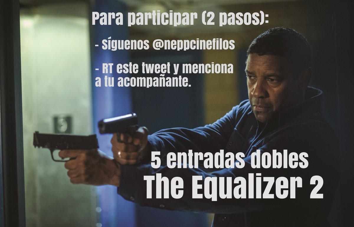 El 10 de agosto se estrena en cines #TheEqualizer2LaPelícula ¡Regalamos entradas dobles! No os quedéis sin la vuestra. #SORTEO #TheEqualizer2